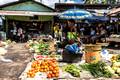 The market in Alor