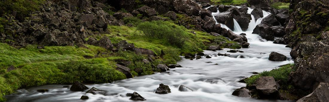 Öxarárfoss in Þingvellir